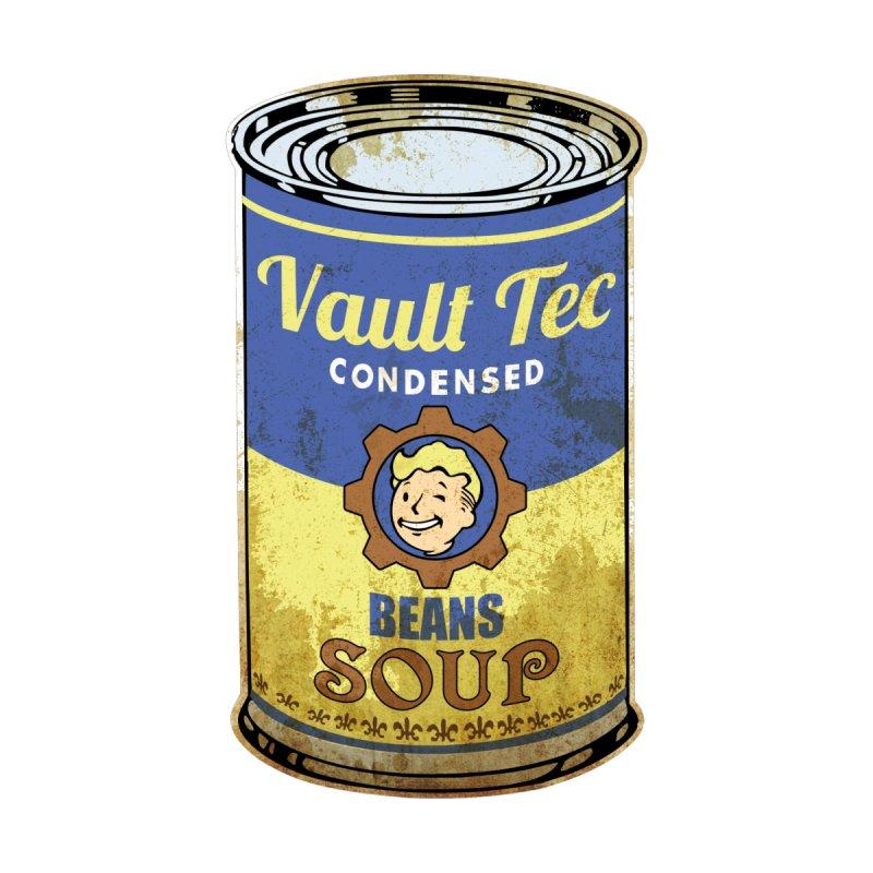 VAULT TEC BEANS SOUP  by karmadesigner's Tee Shirt Shop