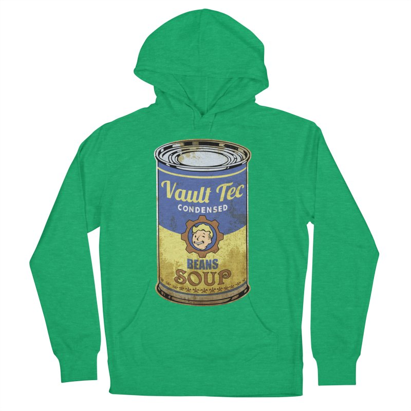 VAULT TEC BEANS SOUP  Women's Pullover Hoody by karmadesigner's Tee Shirt Shop