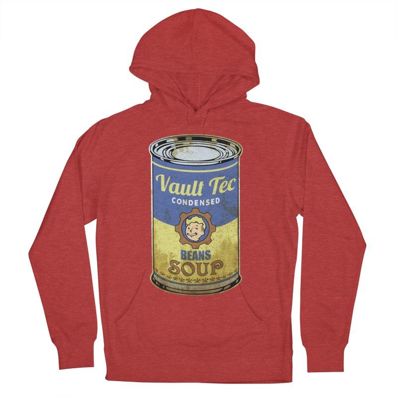 VAULT TEC BEANS SOUP  Women's Pullover Hoody by karmadesigner's Tee Shirt Shop