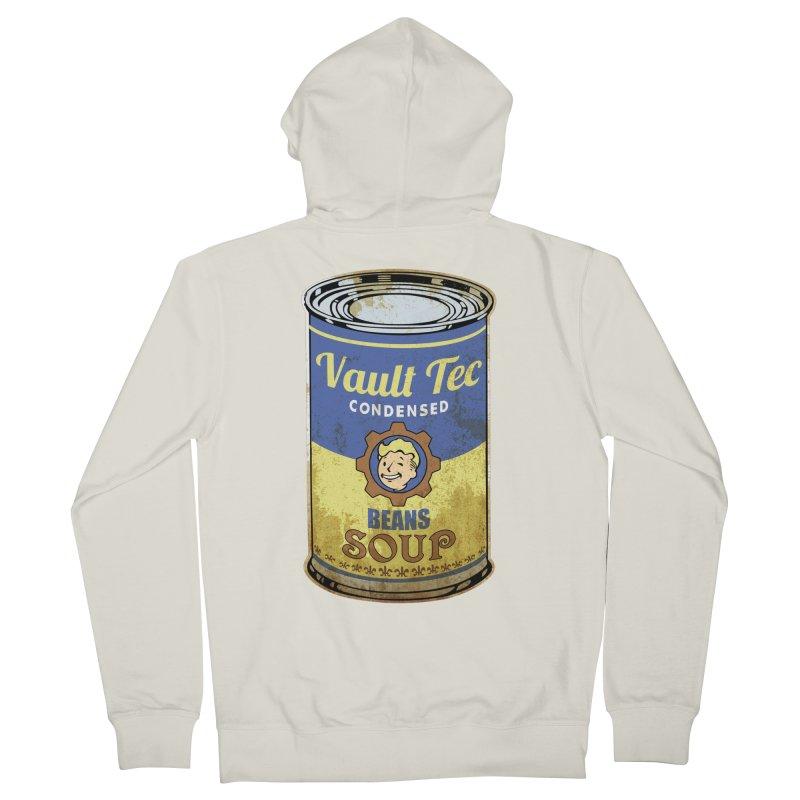 VAULT TEC BEANS SOUP  Women's Zip-Up Hoody by karmadesigner's Tee Shirt Shop