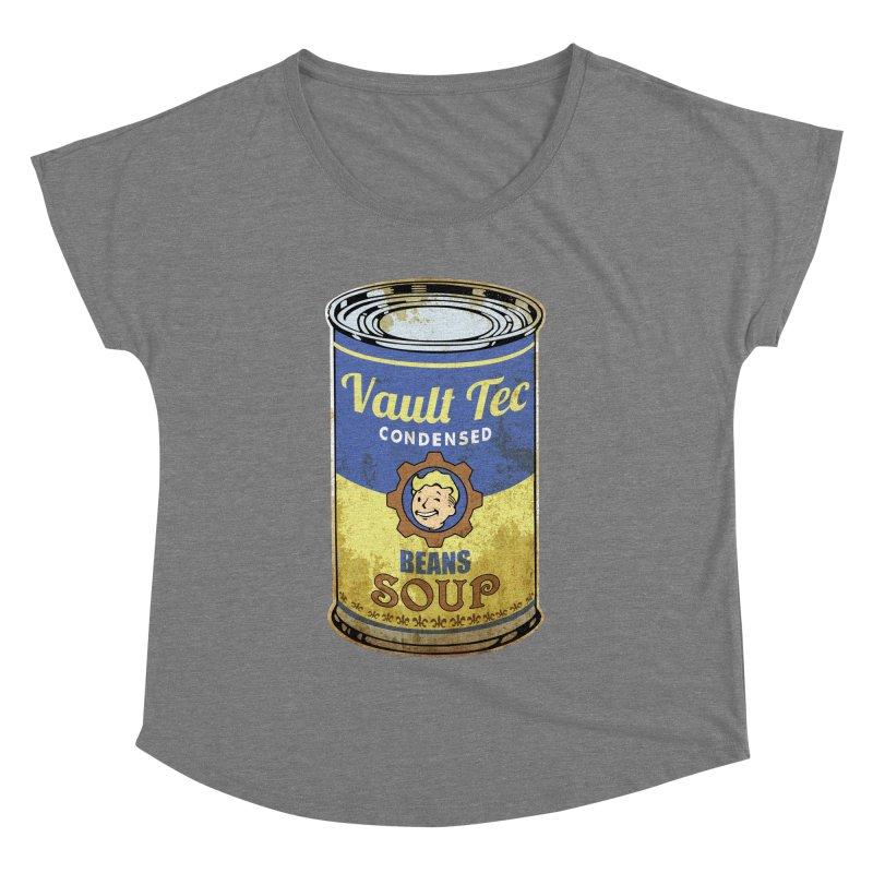 VAULT TEC BEANS SOUP  Women's Dolman by karmadesigner's Tee Shirt Shop