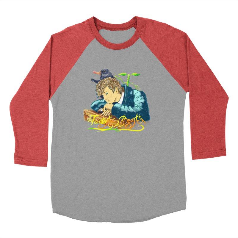 WHERE TO FIND THEM Women's Baseball Triblend Longsleeve T-Shirt by karmadesigner's Tee Shirt Shop