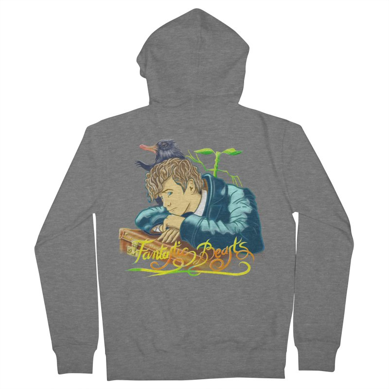 WHERE TO FIND THEM Women's French Terry Zip-Up Hoody by karmadesigner's Tee Shirt Shop