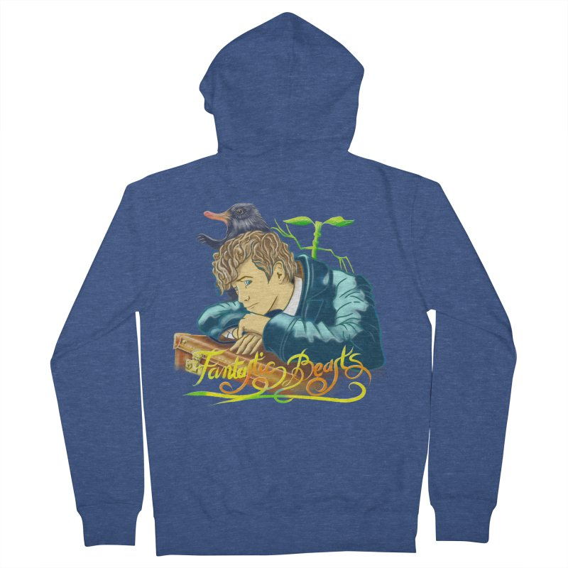 WHERE TO FIND THEM Men's French Terry Zip-Up Hoody by karmadesigner's Tee Shirt Shop