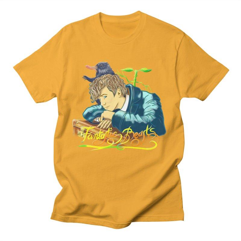 WHERE TO FIND THEM Men's Regular T-Shirt by karmadesigner's Tee Shirt Shop