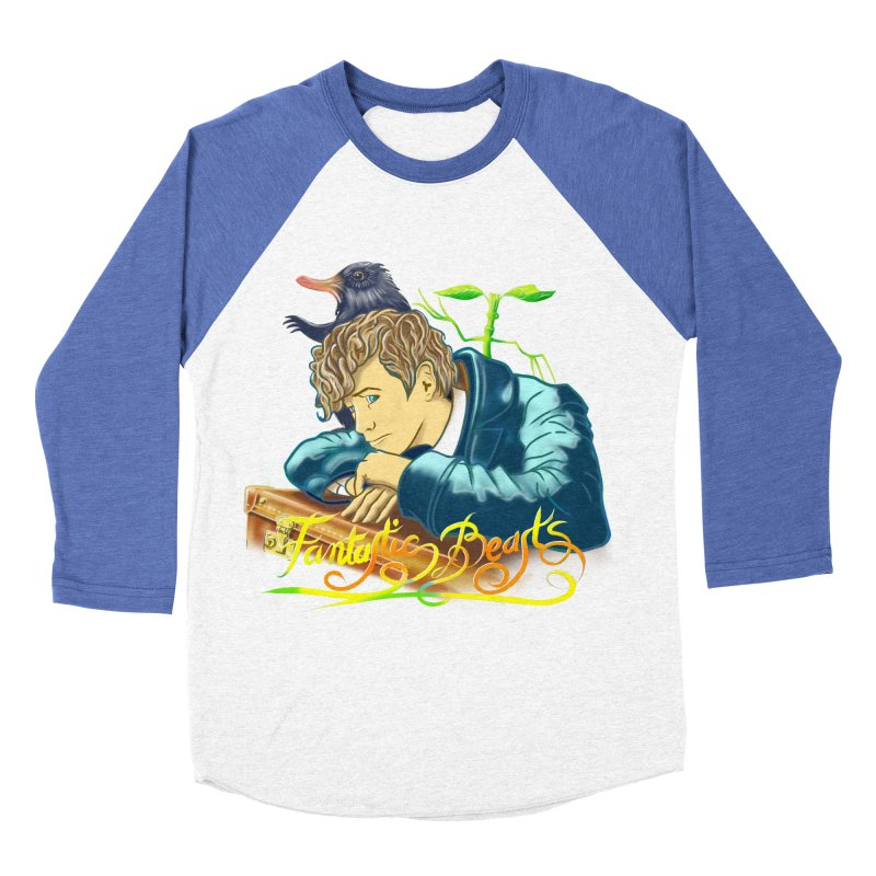 WHERE TO FIND THEM Men's Baseball Triblend T-Shirt by karmadesigner's Tee Shirt Shop