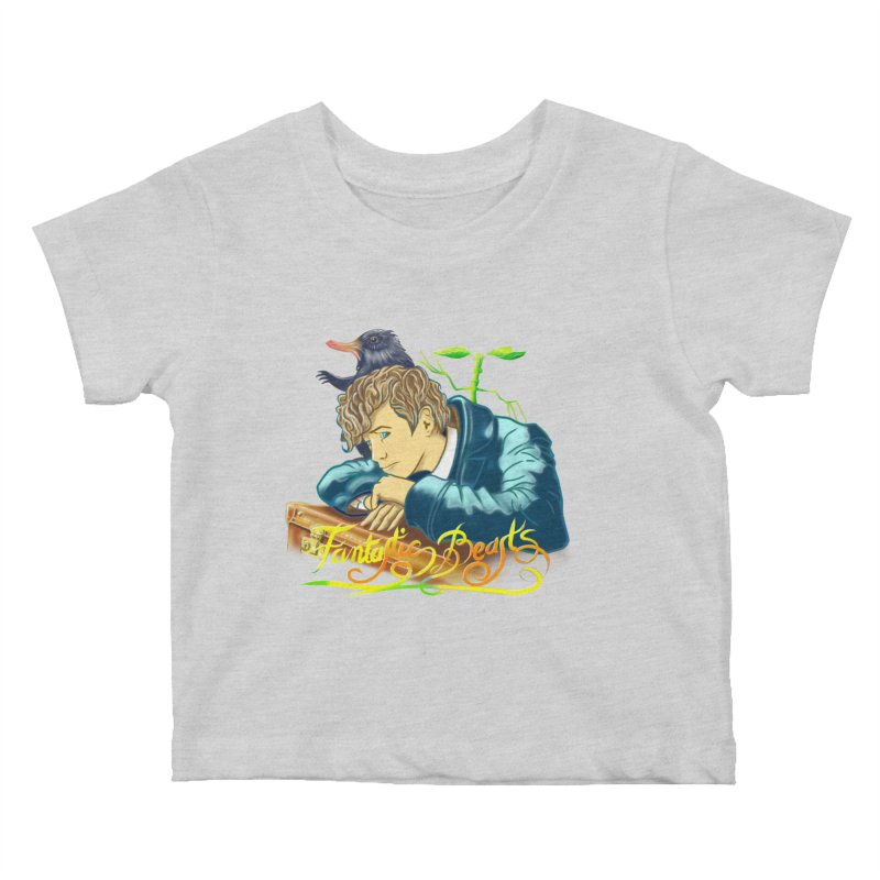 WHERE TO FIND THEM Kids Baby T-Shirt by karmadesigner's Tee Shirt Shop