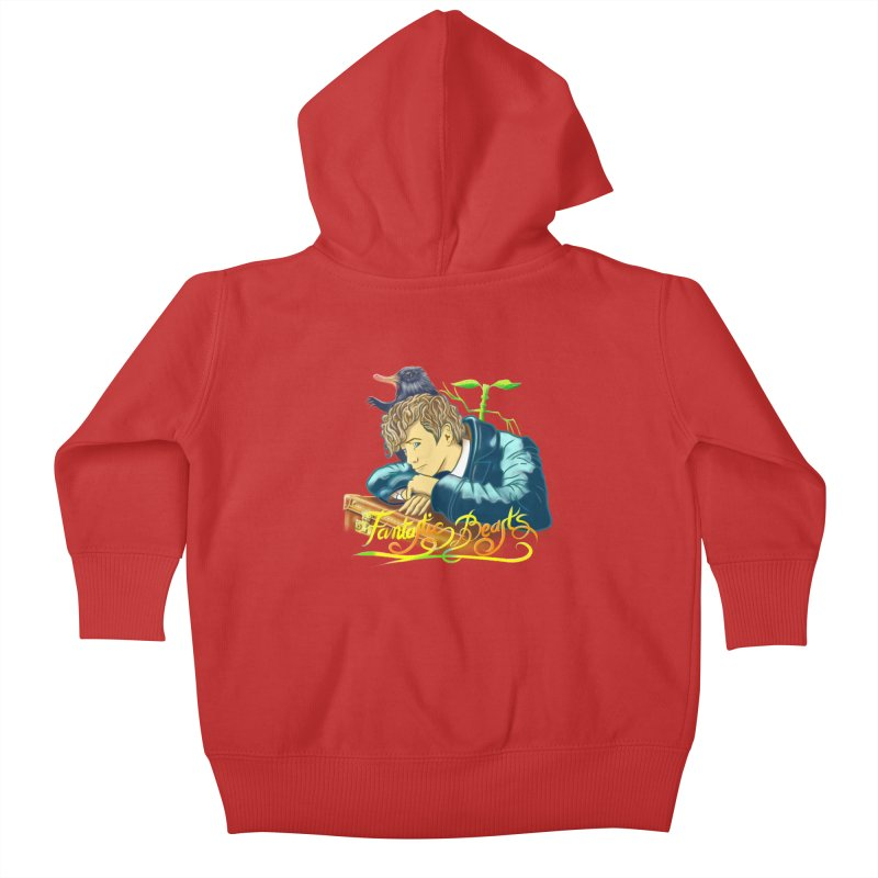 WHERE TO FIND THEM Kids Baby Zip-Up Hoody by karmadesigner's Tee Shirt Shop