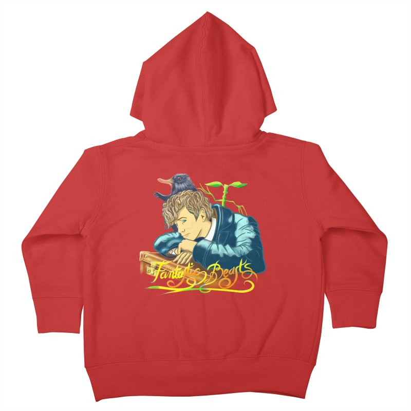 WHERE TO FIND THEM Kids Toddler Zip-Up Hoody by karmadesigner's Tee Shirt Shop