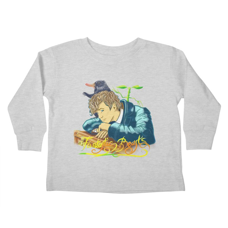 WHERE TO FIND THEM Kids Toddler Longsleeve T-Shirt by karmadesigner's Tee Shirt Shop