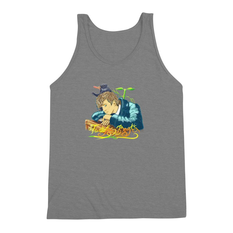 WHERE TO FIND THEM Men's Triblend Tank by karmadesigner's Tee Shirt Shop