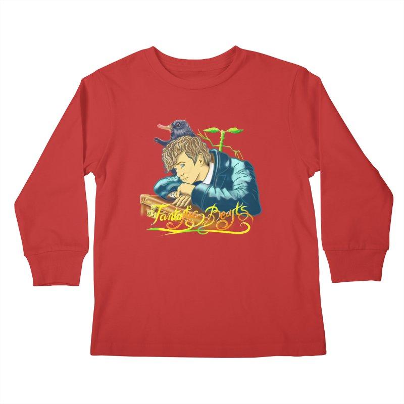 WHERE TO FIND THEM Kids Longsleeve T-Shirt by karmadesigner's Tee Shirt Shop