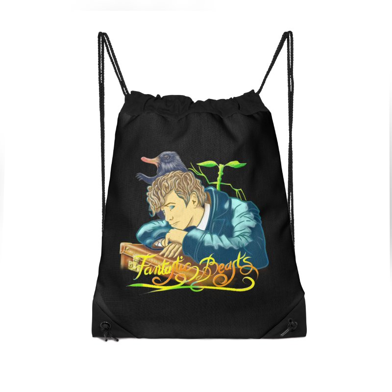 WHERE TO FIND THEM Accessories Drawstring Bag Bag by karmadesigner's Tee Shirt Shop