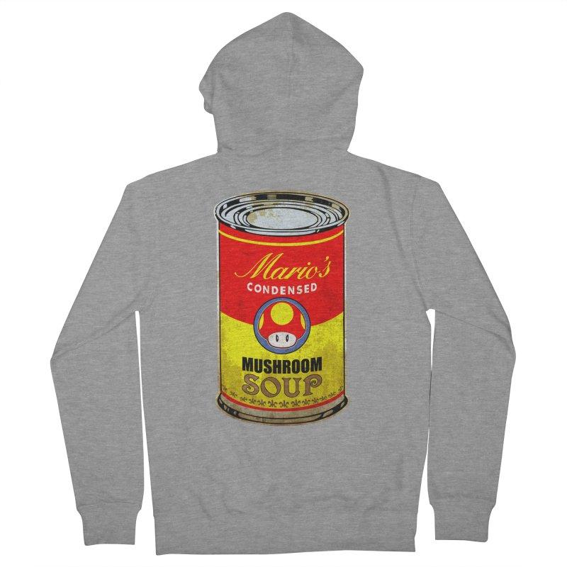 MUSHROOM SOUP Men's Zip-Up Hoody by karmadesigner's Tee Shirt Shop