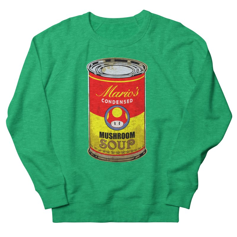MUSHROOM SOUP Men's Sweatshirt by karmadesigner's Tee Shirt Shop