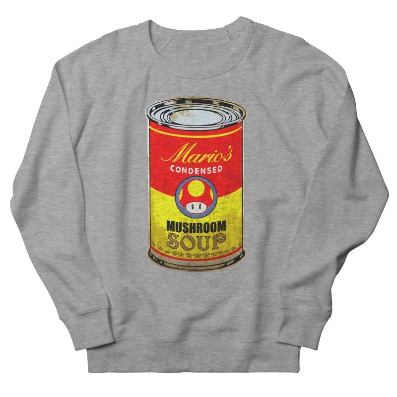 MUSHROOM SOUP Men's Sweatshirt by karmadesigner's Tee Shirt Shop
