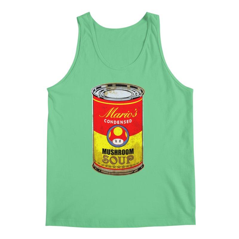 MUSHROOM SOUP Men's Tank by karmadesigner's Tee Shirt Shop