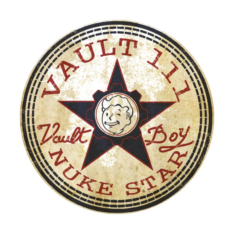 VAULT 111 NUKA STAR  None  by karmadesigner's Tee Shirt Shop