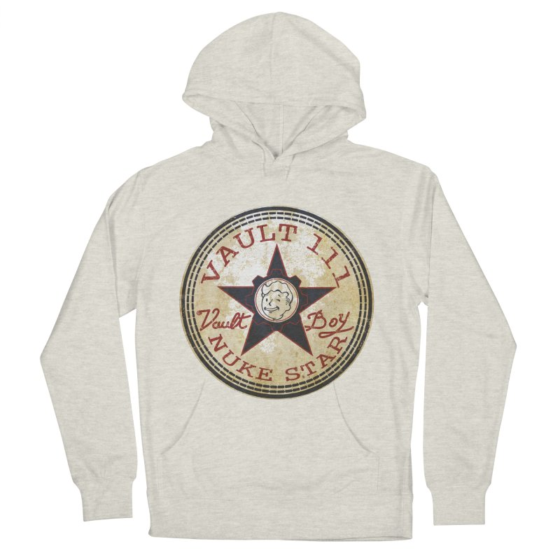VAULT 111 NUKA STAR  Men's Pullover Hoody by karmadesigner's Tee Shirt Shop