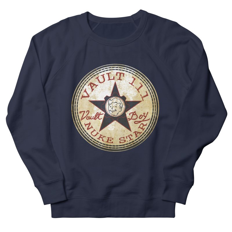 VAULT 111 NUKA STAR  Men's Sweatshirt by karmadesigner's Tee Shirt Shop