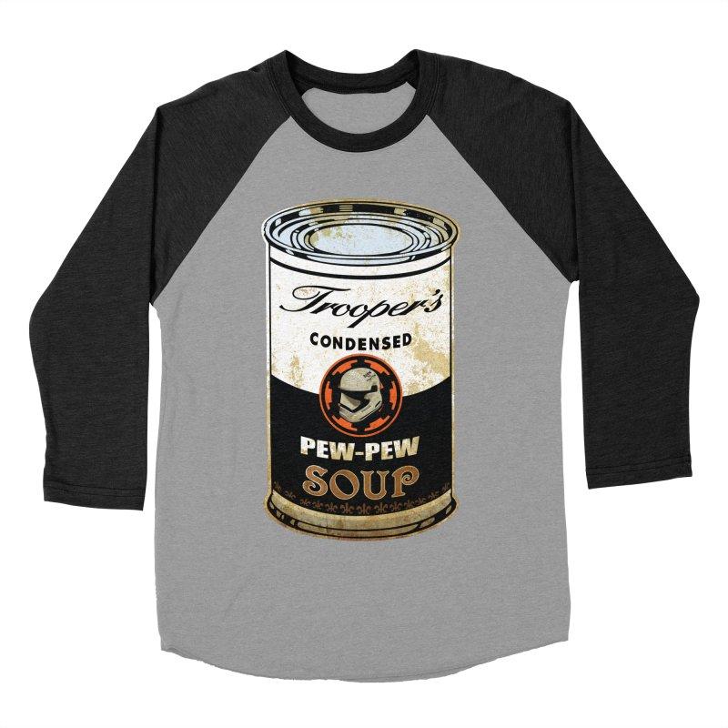 TROOPER Men's Baseball Triblend T-Shirt by karmadesigner's Tee Shirt Shop