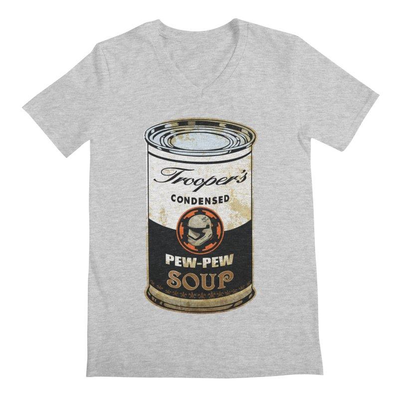TROOPER Men's V-Neck by karmadesigner's Tee Shirt Shop