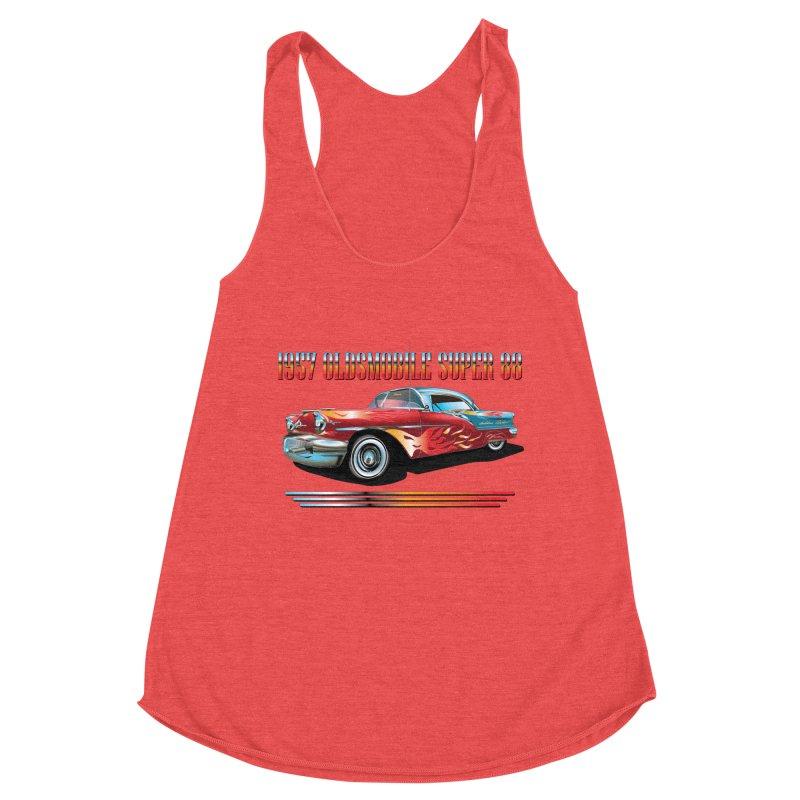 1957OLDSMOBILE SUPER 88 Women's Tank by karmadesigner's Tee Shirt Shop