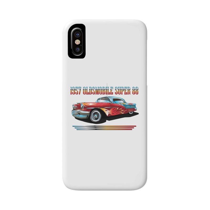 1957OLDSMOBILE SUPER 88 Accessories Phone Case by karmadesigner's Tee Shirt Shop