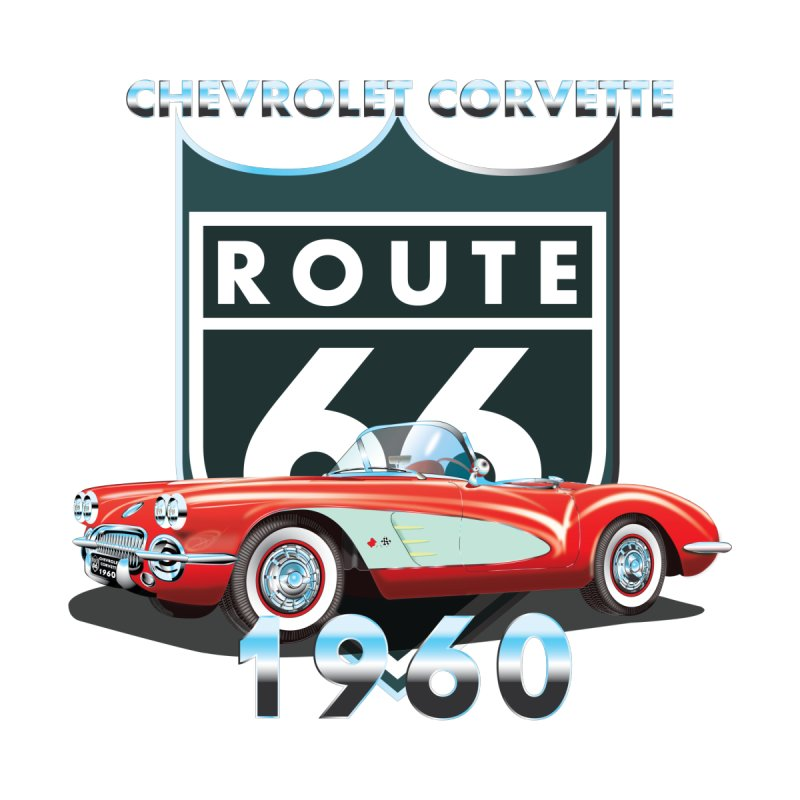 CHEVROLET CORVETTE 1960 Women's Tank by karmadesigner's Tee Shirt Shop