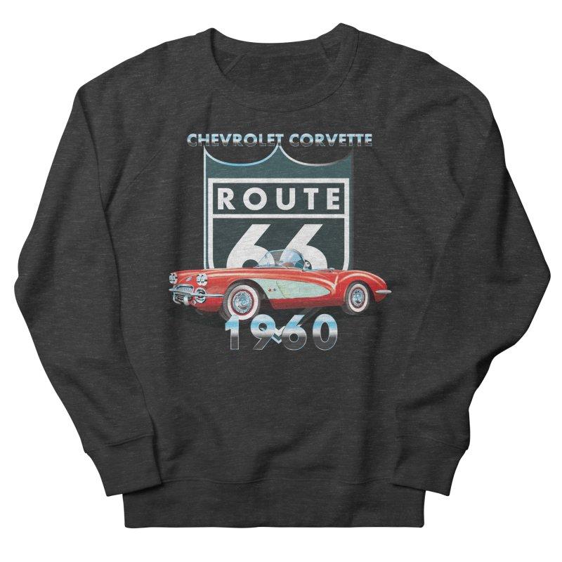 CHEVROLET CORVETTE 1960 Women's French Terry Sweatshirt by karmadesigner's Tee Shirt Shop