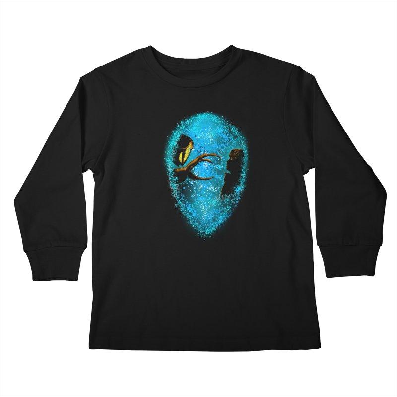 LOST FRIENDSHIP Kids Longsleeve T-Shirt by karmadesigner's Tee Shirt Shop