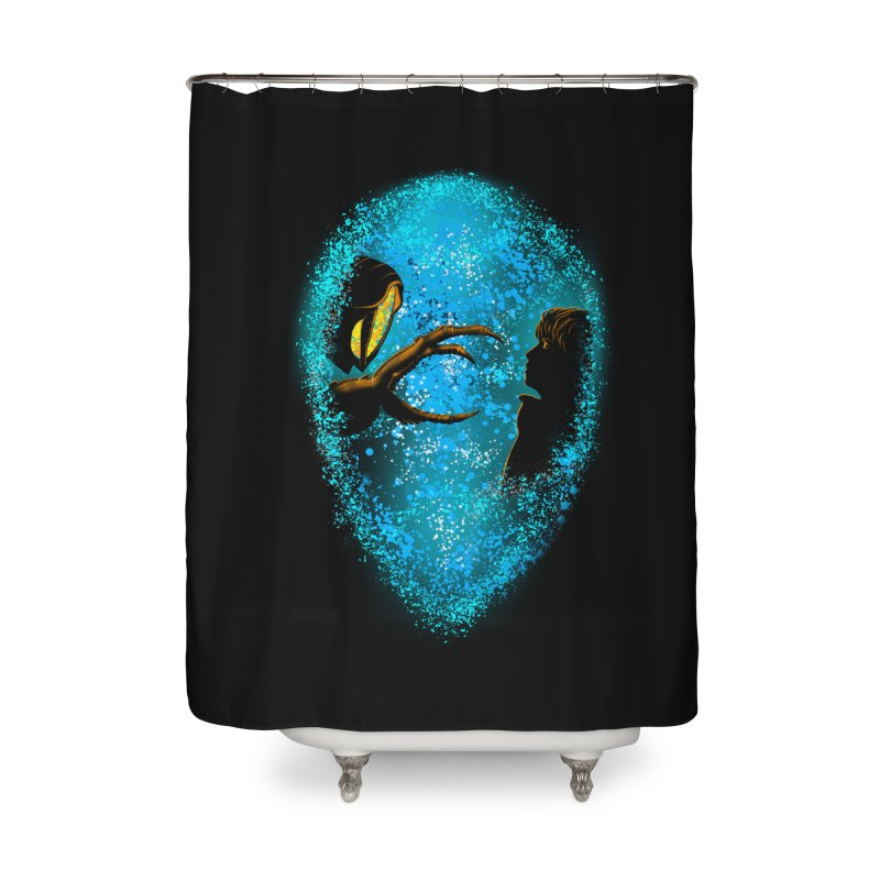 LOST FRIENDSHIP Home Shower Curtain by karmadesigner's Tee Shirt Shop