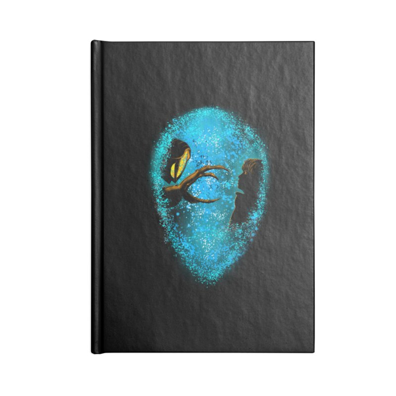 LOST FRIENDSHIP Accessories Notebook by karmadesigner's Tee Shirt Shop