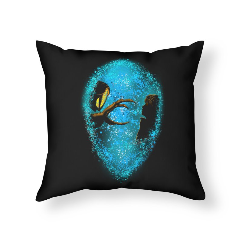LOST FRIENDSHIP Home Throw Pillow by karmadesigner's Tee Shirt Shop