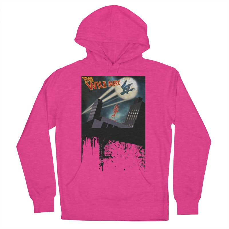 THE WILE MERC  Women's Pullover Hoody by karmadesigner's Tee Shirt Shop