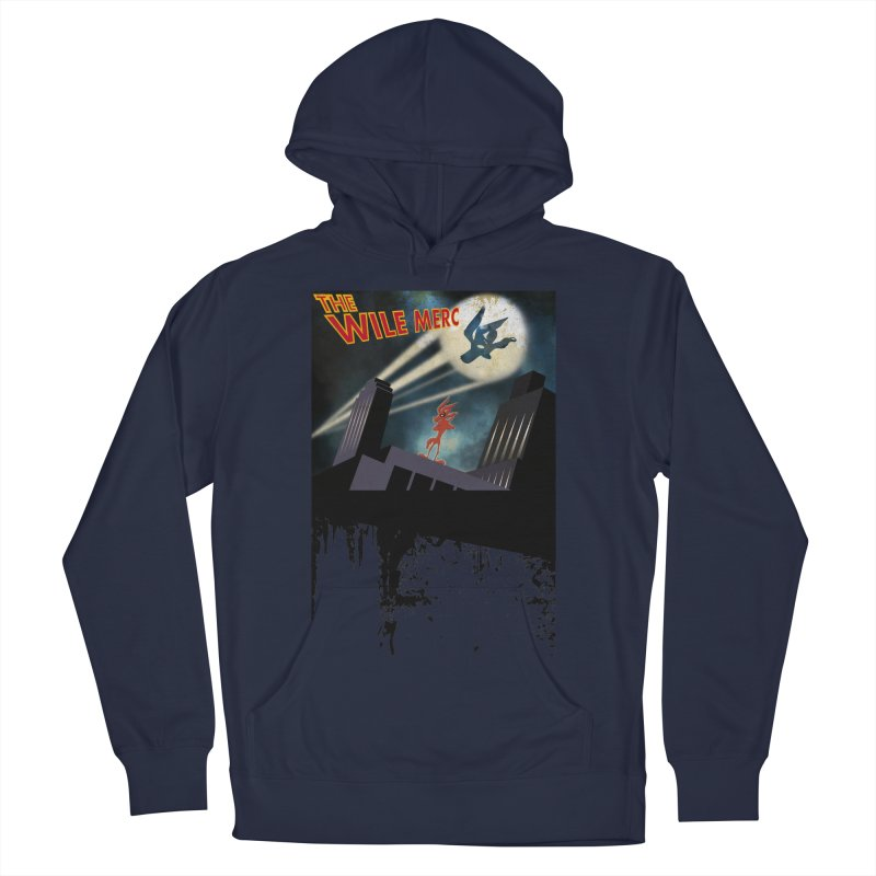THE WILE MERC  Men's Pullover Hoody by karmadesigner's Tee Shirt Shop