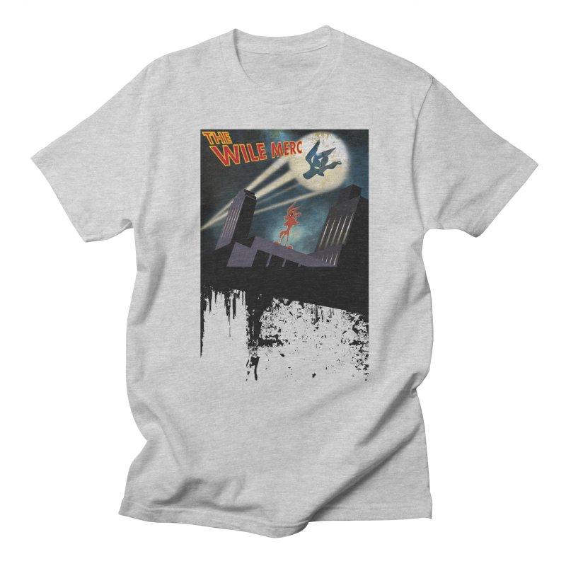 THE WILE MERC  Men's T-shirt by karmadesigner's Tee Shirt Shop