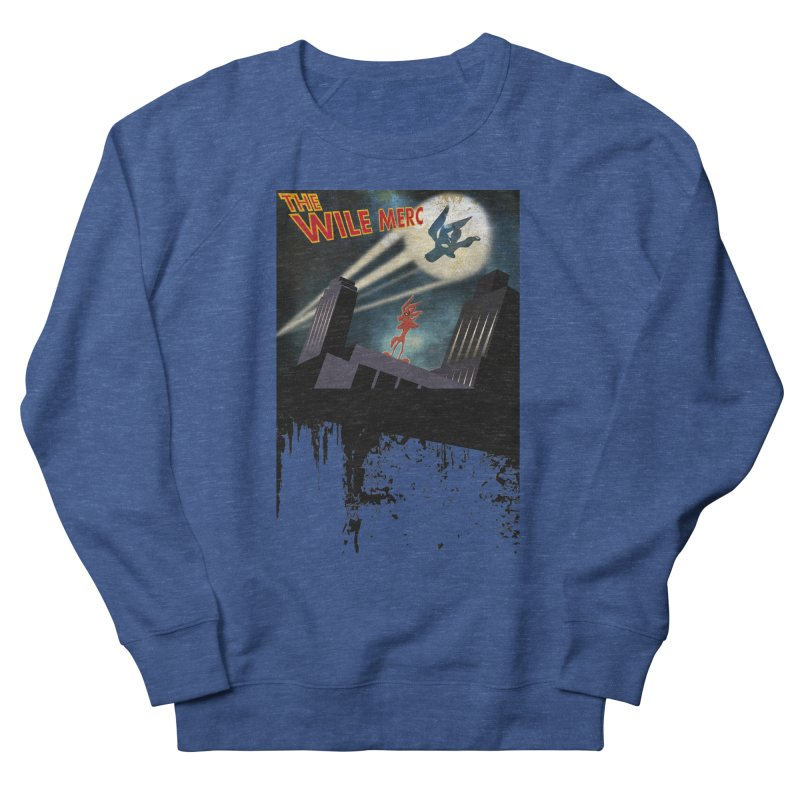 THE WILE MERC  Men's Sweatshirt by karmadesigner's Tee Shirt Shop