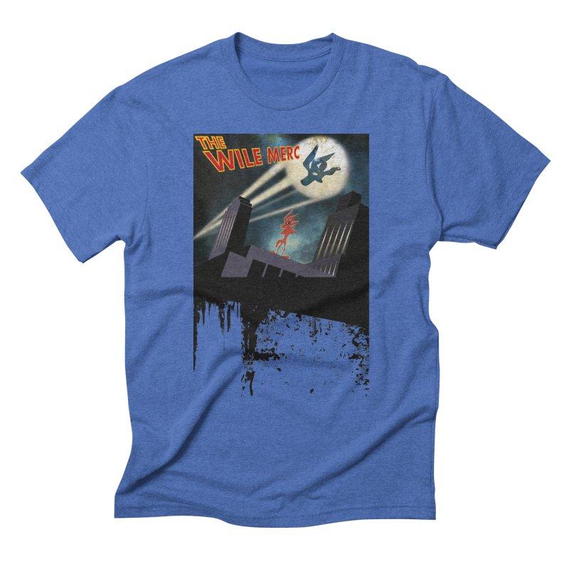 THE WILE MERC  Men's Triblend T-Shirt by karmadesigner's Tee Shirt Shop