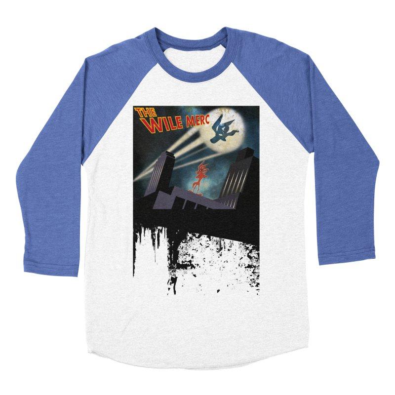 THE WILE MERC  Men's Baseball Triblend T-Shirt by karmadesigner's Tee Shirt Shop