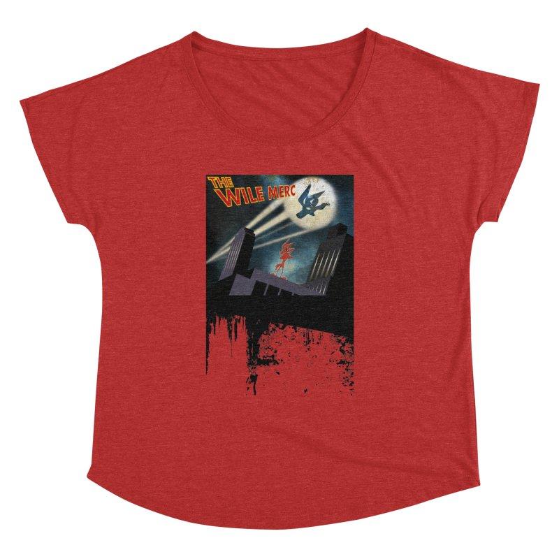 THE WILE MERC  Women's Dolman by karmadesigner's Tee Shirt Shop