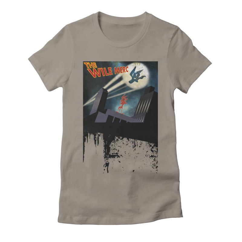 THE WILE MERC  Women's Fitted T-Shirt by karmadesigner's Tee Shirt Shop