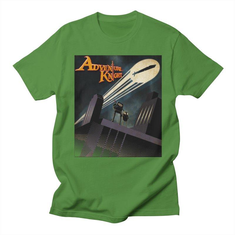 ADVENTURE KNIGHT  Men's T-shirt by karmadesigner's Tee Shirt Shop