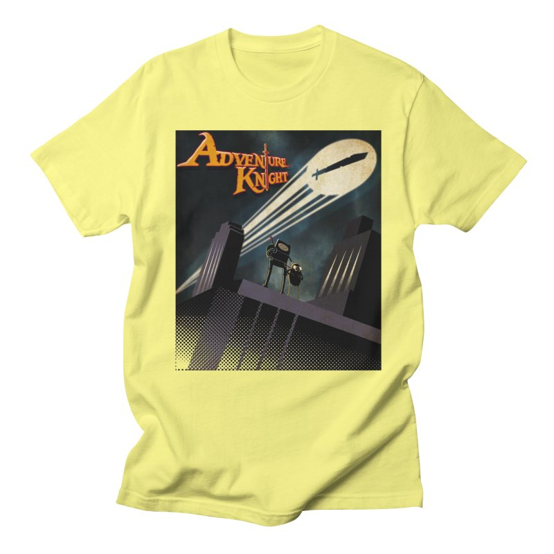 ADVENTURE KNIGHT  Men's T-Shirt by karmadesigner's Tee Shirt Shop