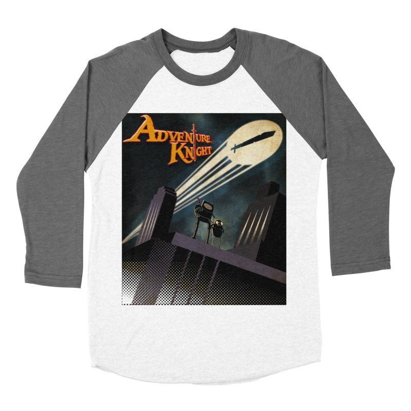 ADVENTURE KNIGHT  Men's Baseball Triblend T-Shirt by karmadesigner's Tee Shirt Shop