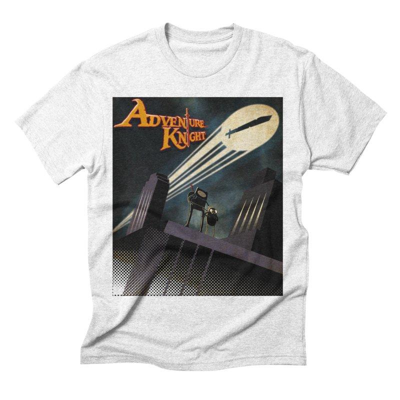 ADVENTURE KNIGHT  Men's Triblend T-shirt by karmadesigner's Tee Shirt Shop