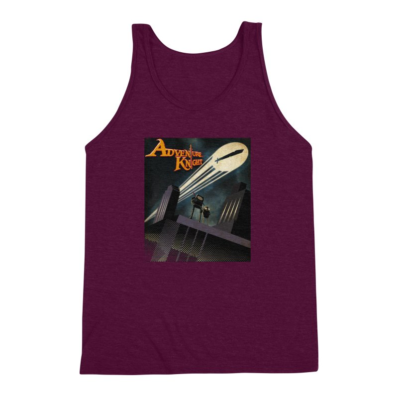 ADVENTURE KNIGHT  Men's Triblend Tank by karmadesigner's Tee Shirt Shop