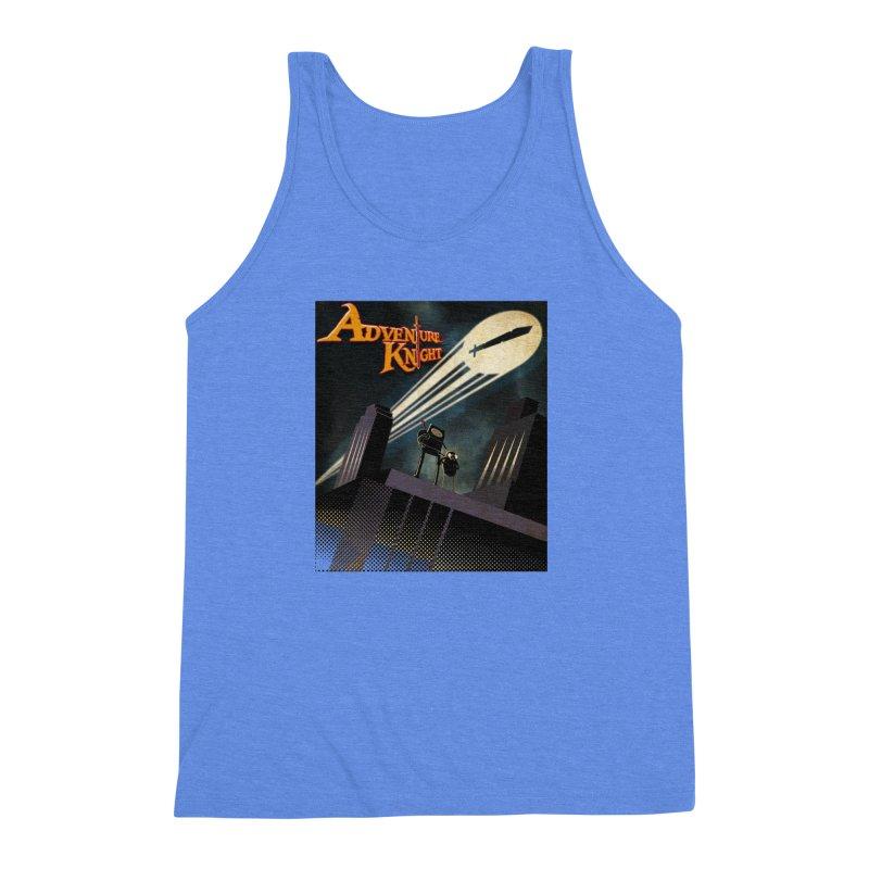 ADVENTURE KNIGHT  Men's Triblend Tank by karmadesigner's Tee Shirt Shop