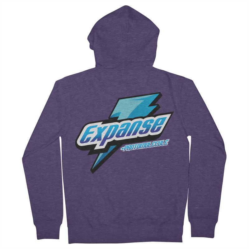 EXPANSE Men's French Terry Zip-Up Hoody by karmadesigner's Tee Shirt Shop