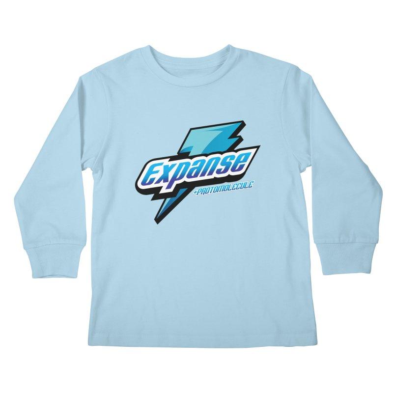 EXPANSE Kids Longsleeve T-Shirt by karmadesigner's Tee Shirt Shop